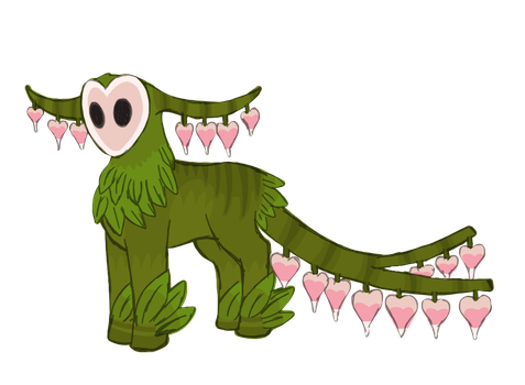 Bleeding Hearts Creature Auction- Ended by ForestGlade