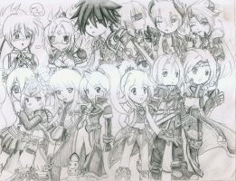 Grand Chase crew part 2 by Dianoka