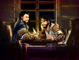 [AC Revelations] Ezio/Yusuf by lcl920