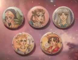 Buttons: Set 2 for Freya by Toto-the-cat