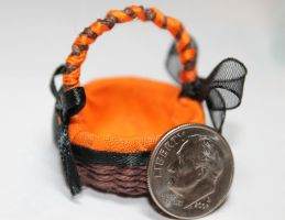 Miniature Halloween Basket by WaterGleam