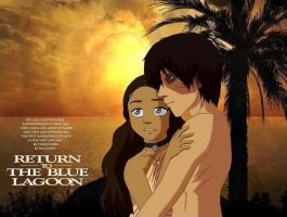 Zutara-The Blue Lagoon by IveWasHere