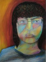 Me in fauvism style by EmeraldLin8891