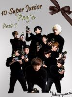 Super Junior A-CHa Png's 1 by NileyJoyrus14