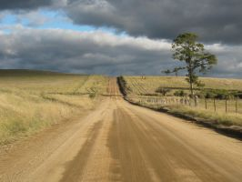 dirt road by L-W-P
