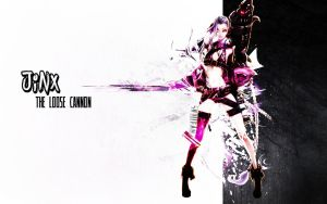 Wallpaper#3 -  Jinx The Loose Cannon by Dc4L