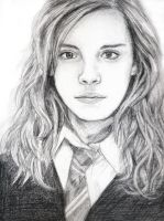 Hermione Granger by vivsters