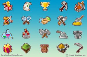 NeverSky Icons by larra-vit