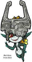 Toon Imp Midna by Mortdres