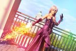 Lightning - The Fighting Actress by CrystalMoonlight1
