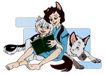 Books and Dogs by NattiKay
