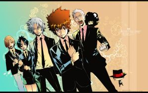 Vongola - To battle by Akagami707