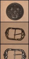 Chart of buckle, make your choice, leather supply by akinra-workshop