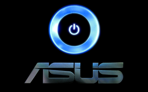 Asus Wide Wallpaper Logo by biffexploder