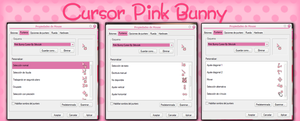 Pink Bunny Cursor By StiloJuliii by StiloJuliii
