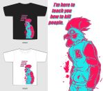 Hotline Miami T-Shirt  Design by BeignetBison