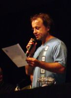 DragonCon 08: Nykl,Auctioneer by CanisCamera