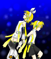 Kiriban for Niki - Kagamine Append by Musakcritiq