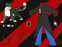 Very Basic, and Clearly Lazy, Lysander Ref! by Zs99