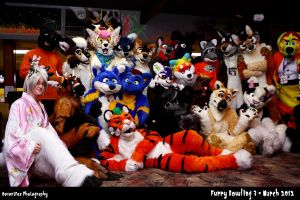 a night of furry bowling :3 by That1Fan
