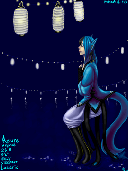 Paper Lanterns by Silverwolf06