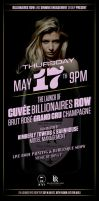 Cuvee Billionaires Row Brut Rose Flyer by sounddecor
