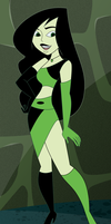 Shego Dressed to Kill by AtomicTiki