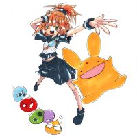 Arle and Carbuncle by sitouanang