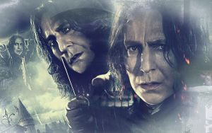 Wallpaper Severus Snape by Nadine2390