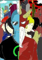 1 Story, Two Sides (Working Title) by Artistic-Shikigami