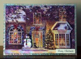 A House at Christmastime by blackrose1959