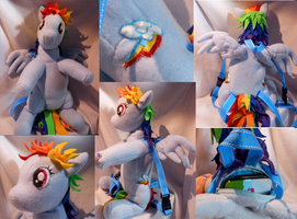 Rainbow Dash Backpack by FuzzyAliens