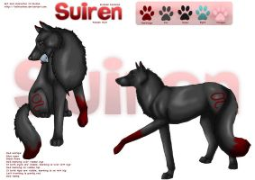 Suiren Character Sheet v2.0 by tailfeather