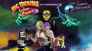 TSE Big Trouble in Little China Review Title Card by Shooter--Andy