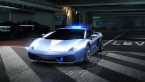 gallardo police. NFS by daz1200