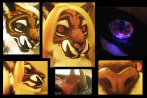 Tiger head by KandorinCreations