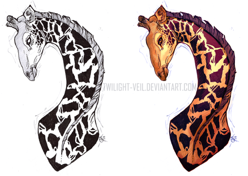 Giraffe by Twilight-Veil