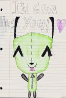 GIR's Gona Hug You! by Annaley