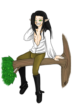 Lexenos Elf by Neak-Temhota