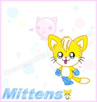 (The Bubble kitties) Mittens mini picture by raccooon325