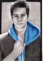 Dylan O'brien by Aoiven