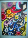 Independent Series Painting #5 for Painting II by Winter-Colorful