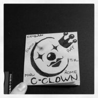 c-clown logo drawing c: by TwisterWithEunHae