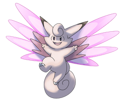 Mega Clefable by Lopoddity