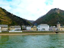 The Rhine River - Germany by AfroDitee