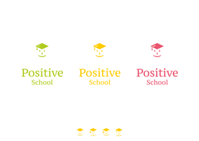 Positive school. Logo concept #1 by vertus-design-being