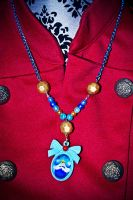 ice King Cameo Necklace by falt-photo