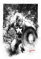 Captain America by Kofee77