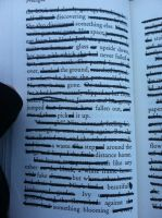 Blackout Poetry Prologue by dARk-knighT4