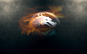 Mortal kombat simple wallpaper by rg-promise